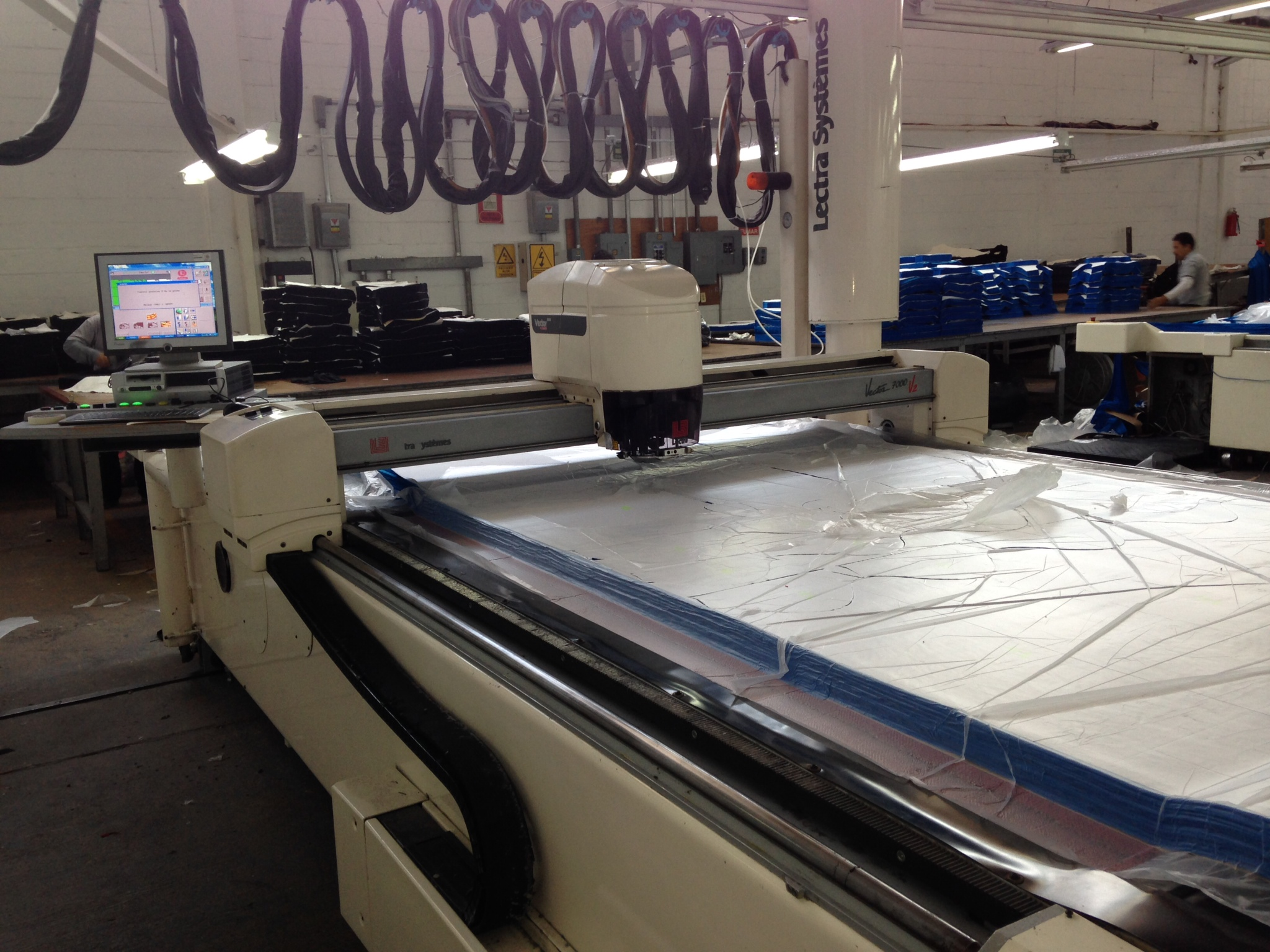Lectra System Vector 7000 V2 Automated Cutting Machine