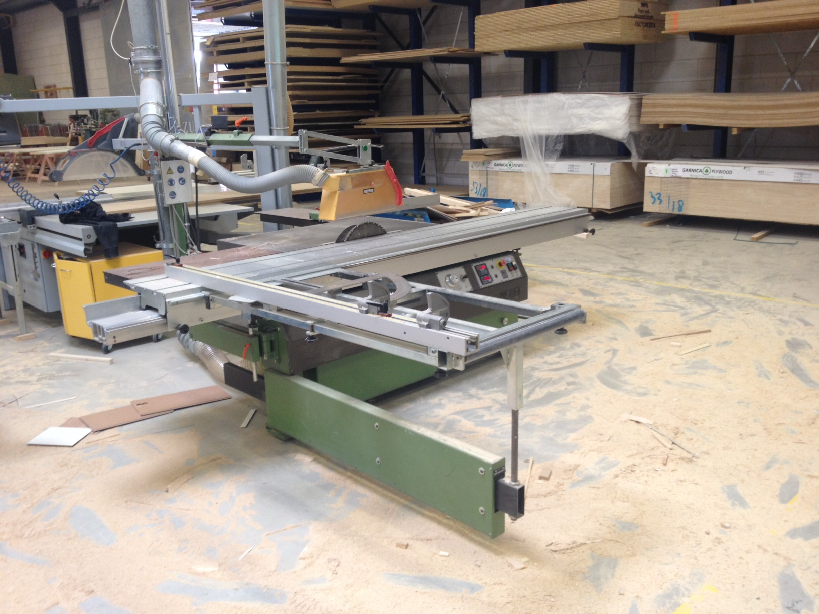 Panhans 690a Sliding Table Saw Exapro