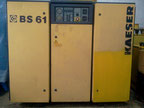 Kaeser BS61 Oiled screw compressor
