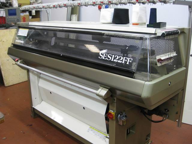 ... knitting machines shima seiki new ses 122 ff 5gg flat knitting machine