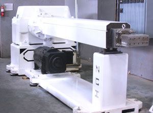 Used Johnson 4.5 Single screw extruder