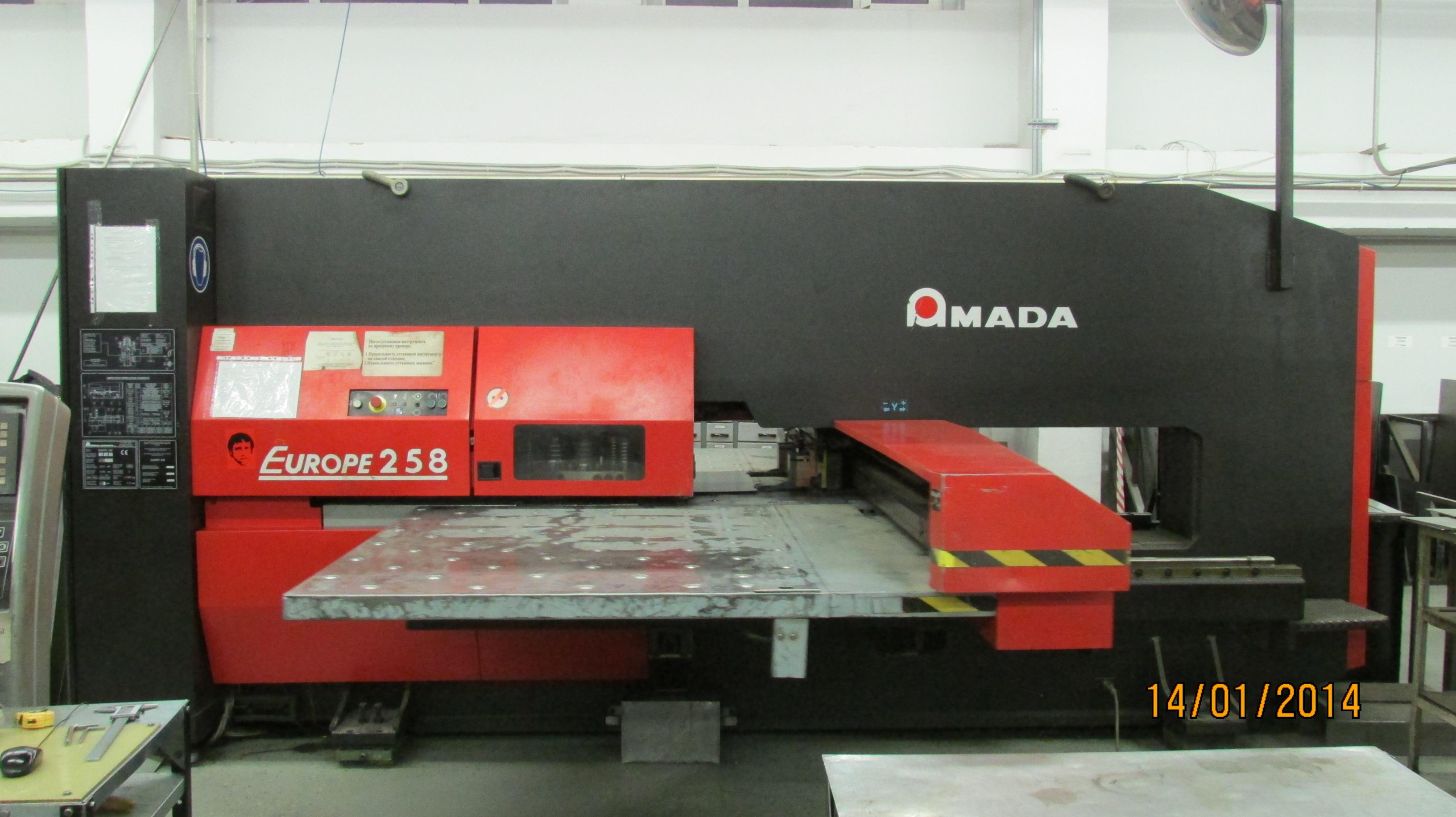amada punching machine