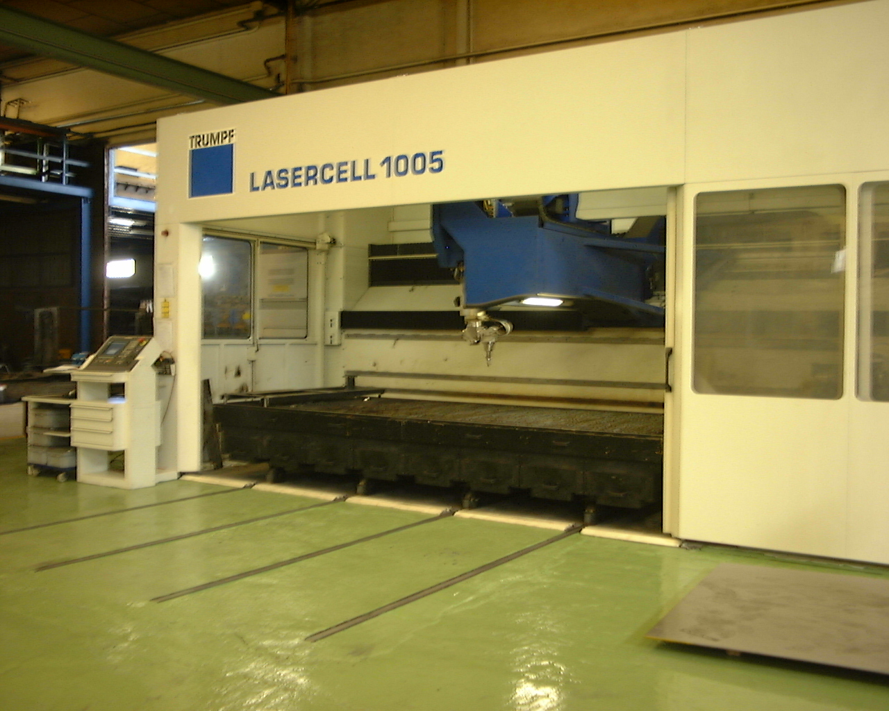 Trumpf Lasercell 1005 Laser Cutting Machine Exapro