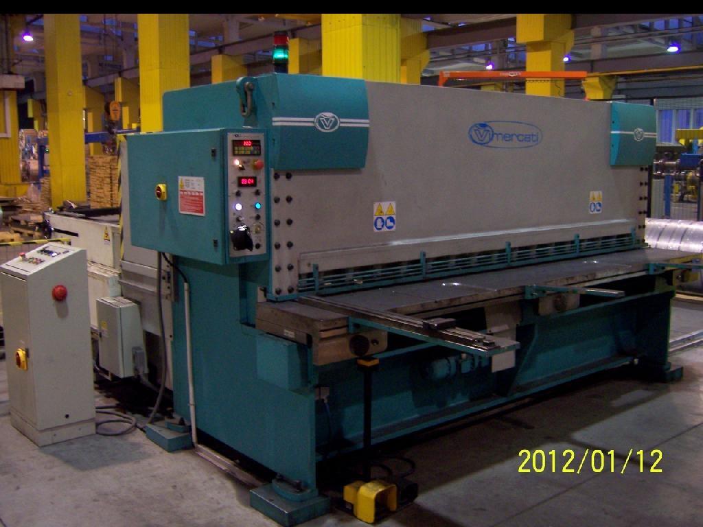Used Vimercati Csi 3050 6 Mm Hydraulic Shearing Machine