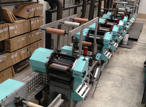 Omet LB 270 Multiflex Labels printing machine