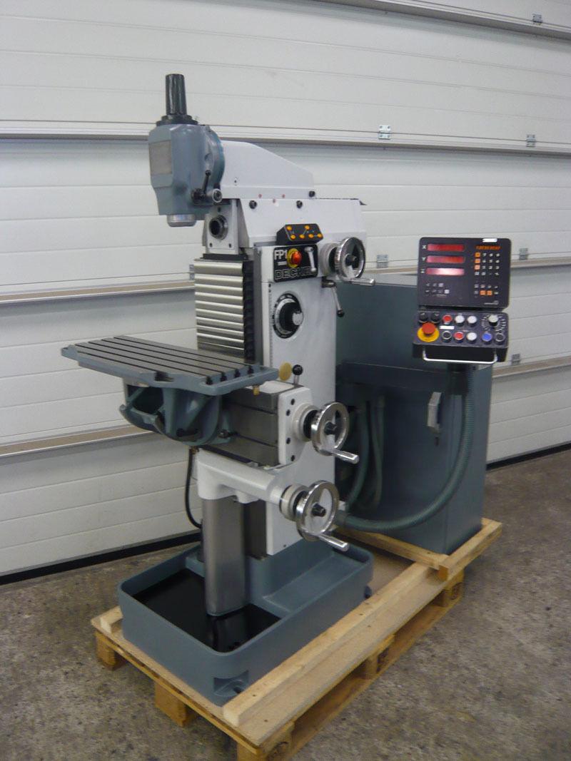 Deckel FP1 universal milling machine - Exapro