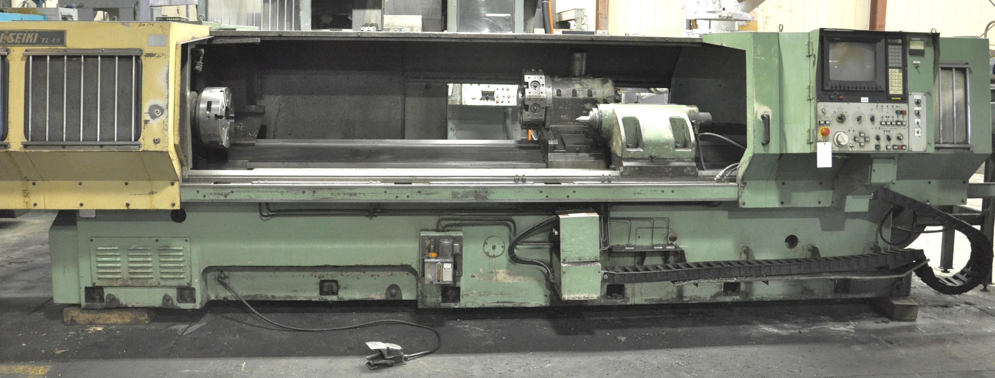 Used Mori Seiki TL40B 3750 Cnc lathe - Exapro