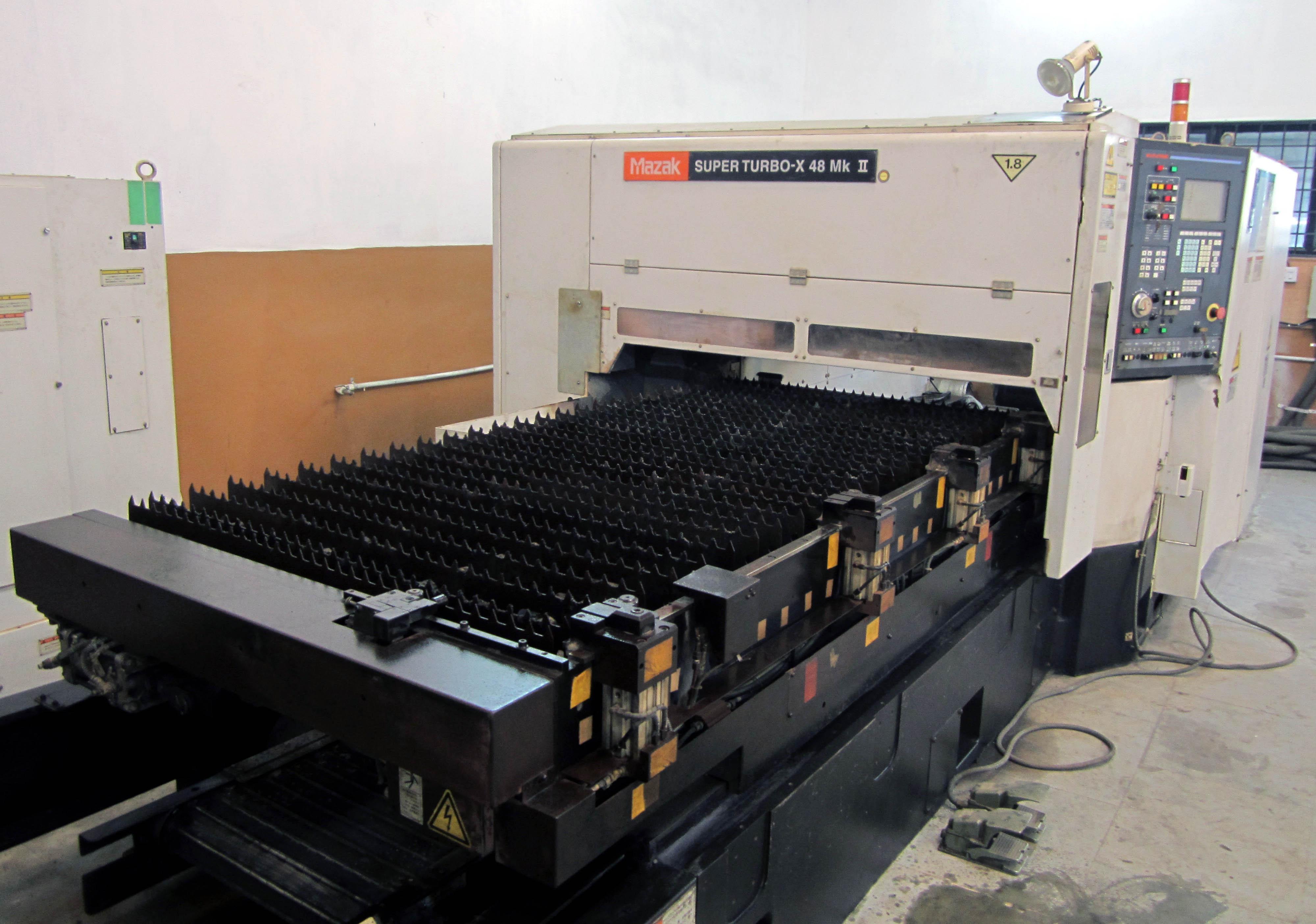 Mazak Superturbo Stx Mk Ii Laser Cutting Machine Exapro