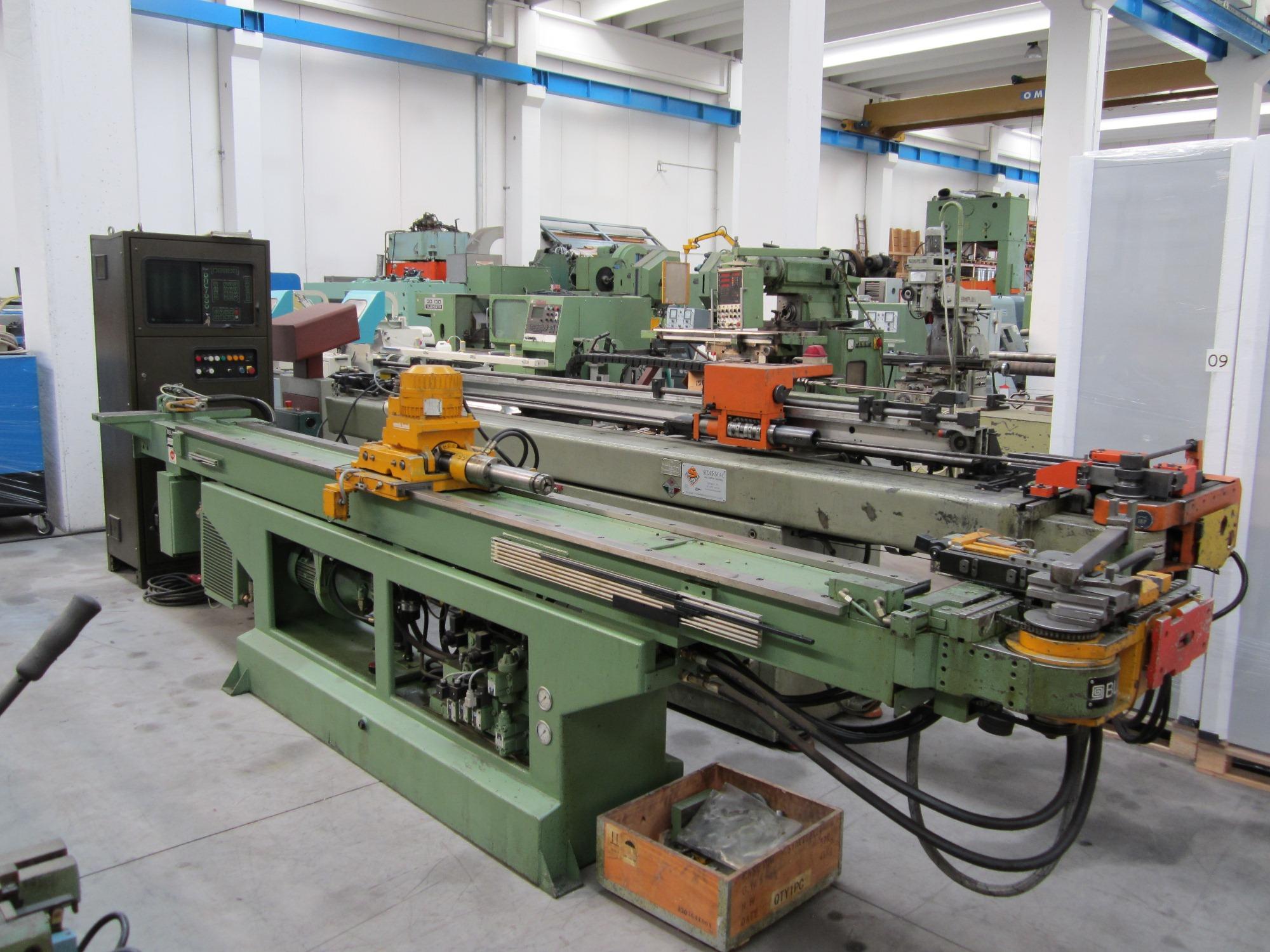 Curvadora cnc blm cnc 3 maquinas de segunda mano exapro for Curvadora de tubos segunda mano