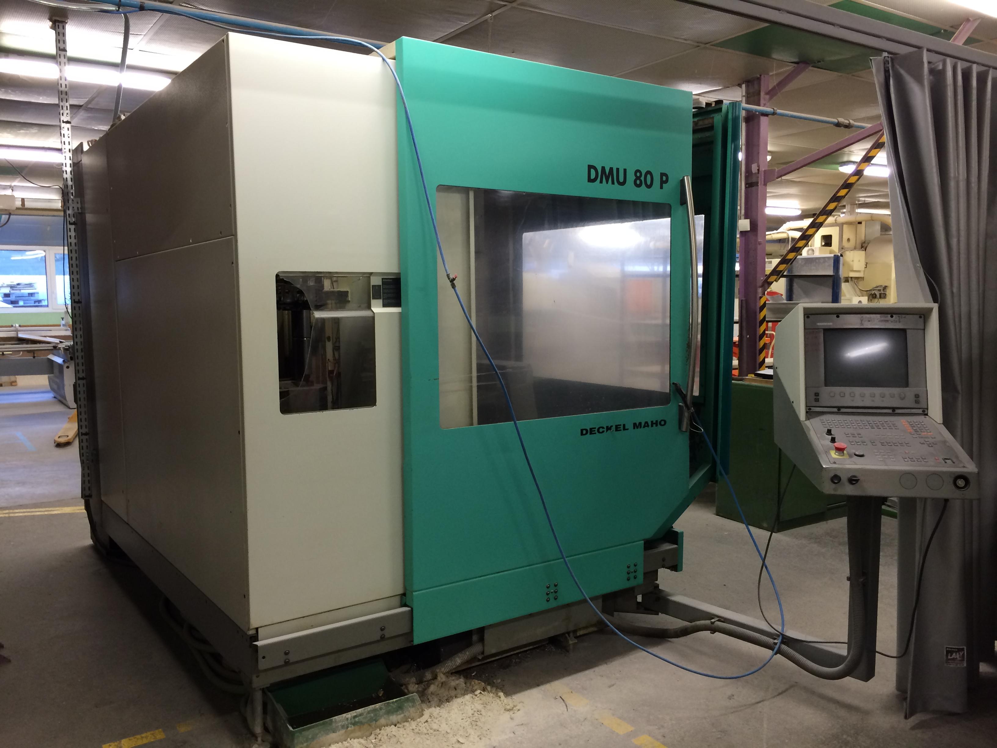 Dmg deckel maho dmu 80p 5 axis machining centre exapro for Dmg deckel maho