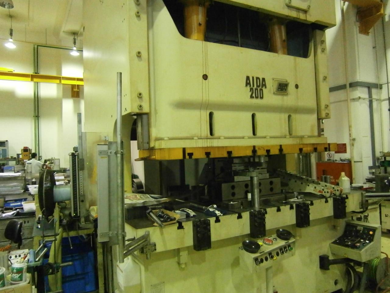 Aida Nc2 200t Metal Stamping Press Exapro