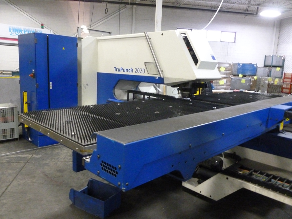 Used Trumpf Trupunch 2020r Cnc Punching Machine Exapro