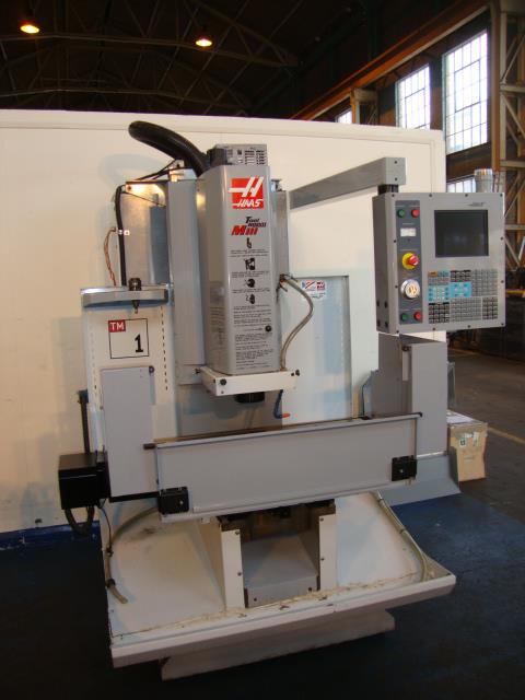 Haas Tm1 Cnc Vertical Milling Machine Exapro