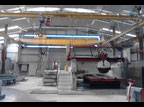 Linia produkcyjna Complete business and granite stone cutting used