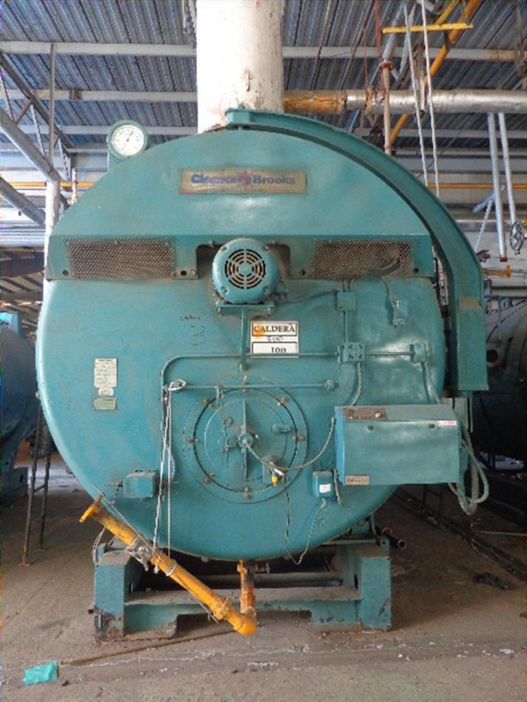 Cleaver Brooks Cb600 500 Steam Boiler 500 Hp 1993 Year