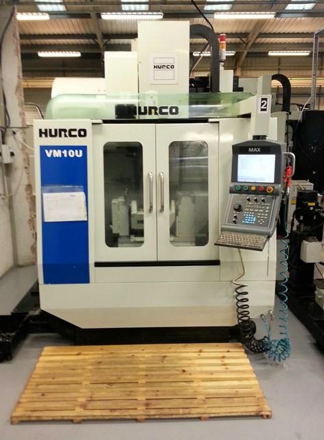 HURCO VM 10U 5 axis machining centre - Exapro