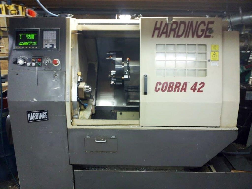 Cnc Machine Metal >> Used Hardinge Cobra 42 Cnc lathe - Exapro