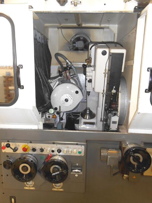 Reishauer Rz 300e Gear Grinding Machine Exapro