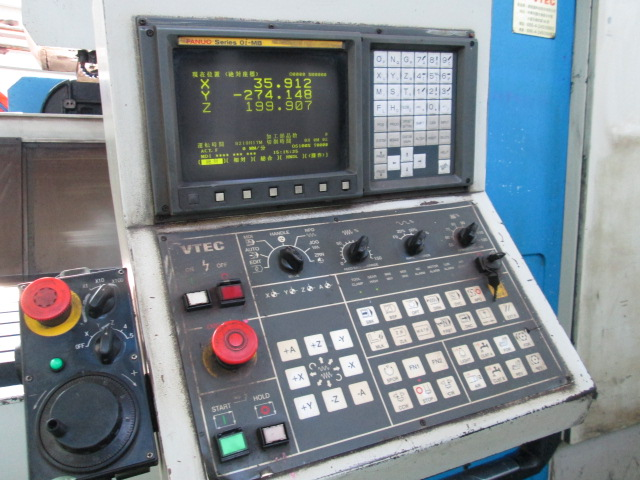 vtec cnc machine