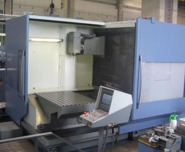 Deckel maho dmg dmu 125 t cnc universal milling machine for Dmg deckel maho