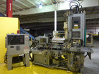 Used Newbury V6 75BRS Injection molding machine