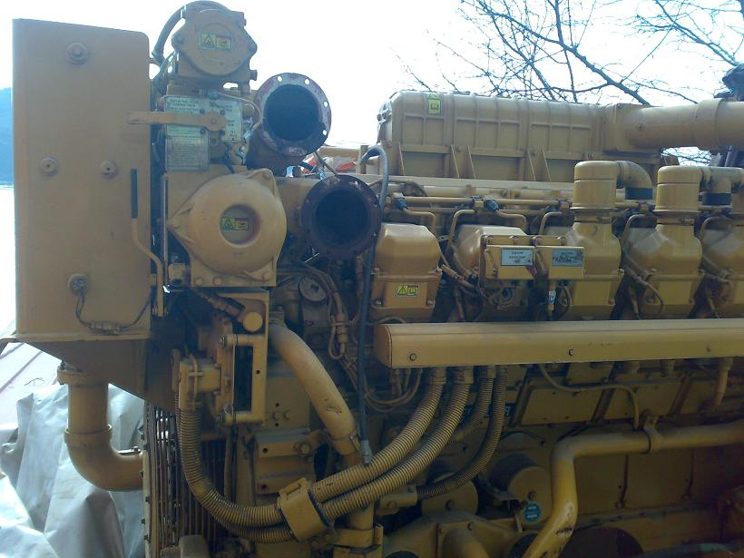 Caterpillar 3512b Generator Specs and maintenance manual Template