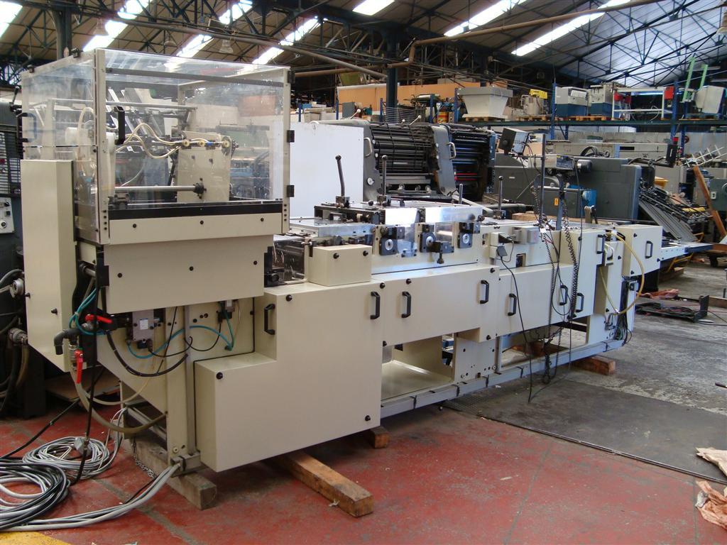 Macchina di fabbricazione di cartone kohmann easiplace - Machine de fabrication de treillis a souder ...