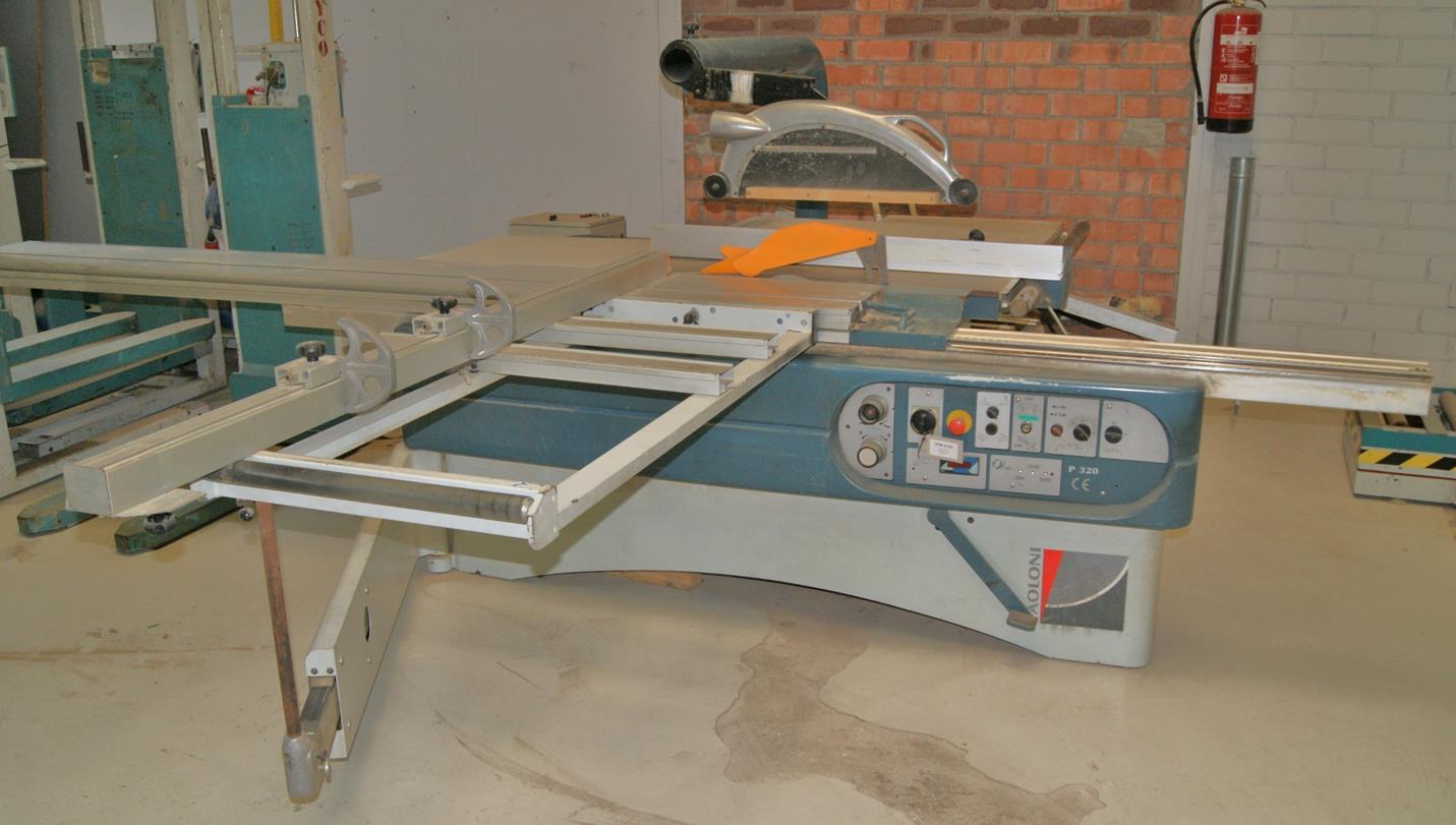 Escuadradora para madera paoloni p320 maquinas de segunda - Garajes de madera de segunda mano ...