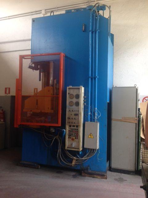 Pressa idraulica emanuel 100 tonn usata macchinari usati for Pressa idraulica 100 ton usata