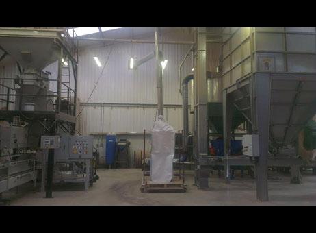 Linea completa morbark wood pellet mill macchinari usati for Macchinari pellet usati