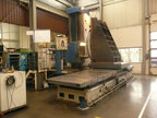 Used TOS WHN 13 CNC table type boring machine
