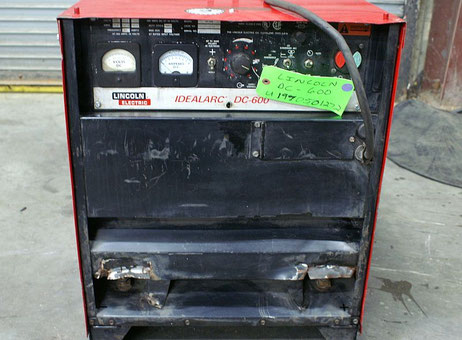 used lincoln welding machine