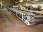 Used conveyor belt with Sandvik
