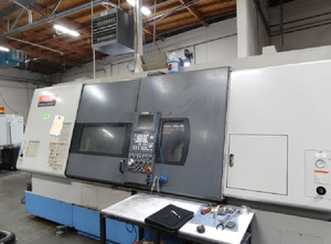 Used 2001 Mazak Integrex 300 2SY Multi Axis CNC Turning & Milling Center