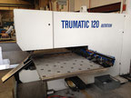 Trumpf TRUMATIC 120 ROTATION CN punching machine
