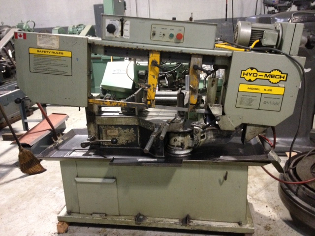Used Hyd Mech S 20 Band Saw Exapro