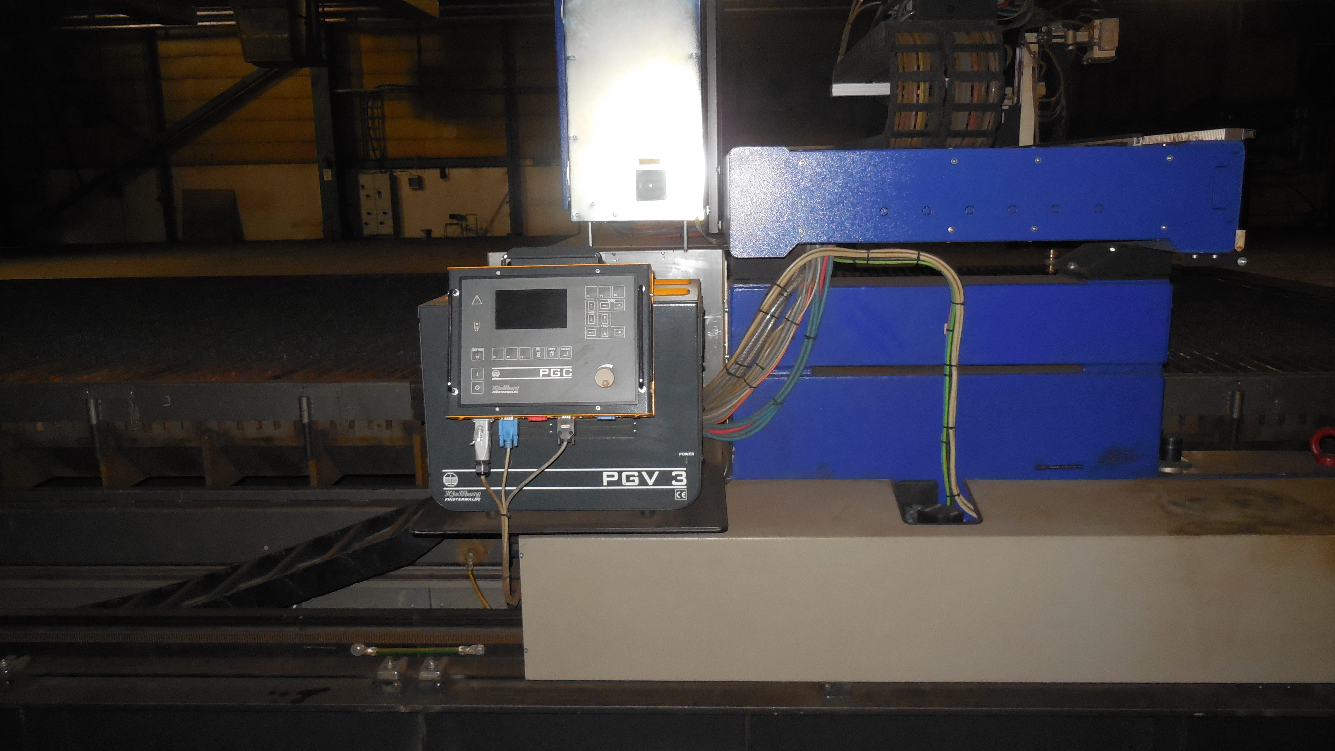 Used Messer Plasma Cutting Machine Exapro