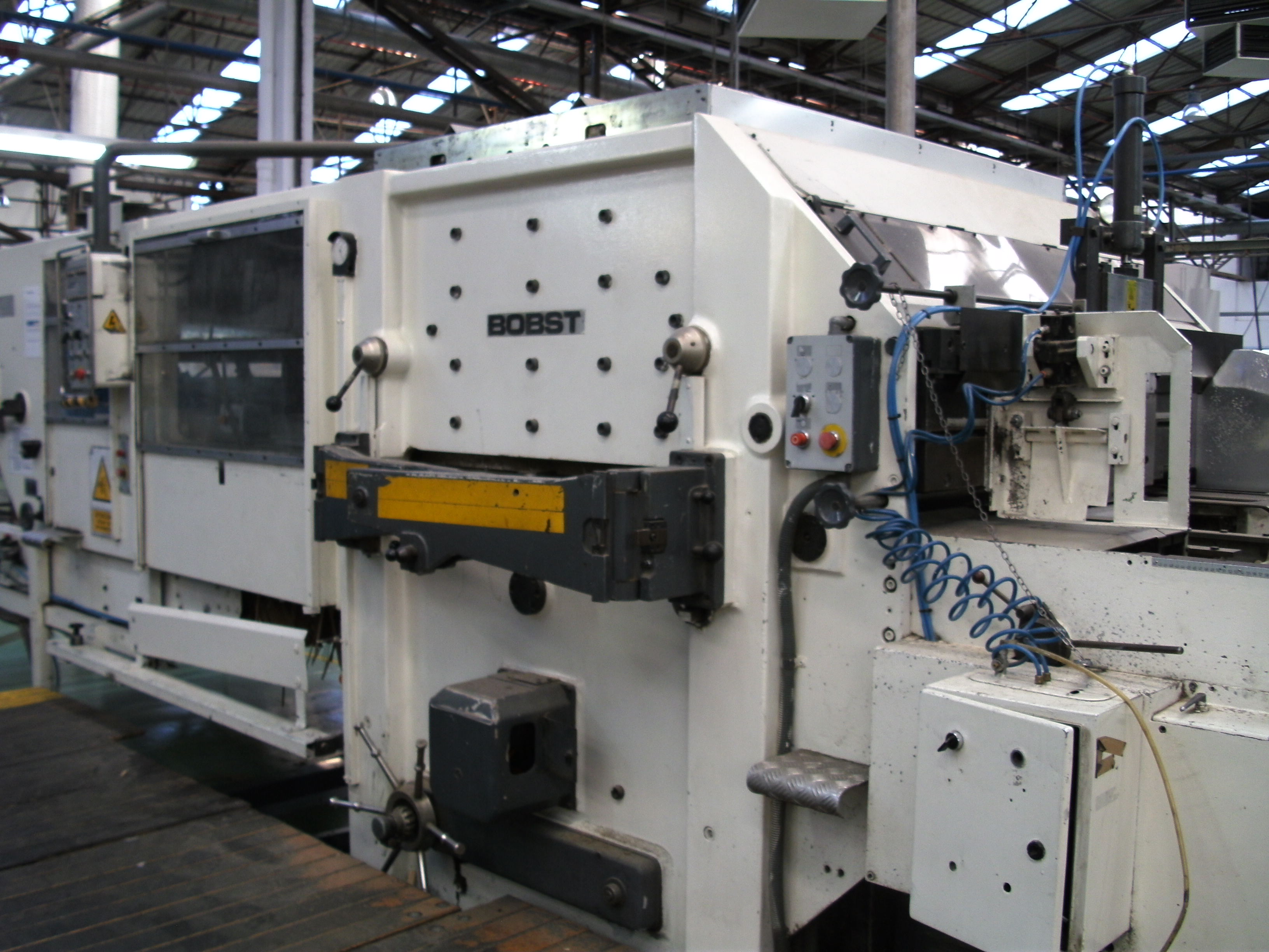 Used Bobst Spo 1575 Eeg Die Cutter Exapro