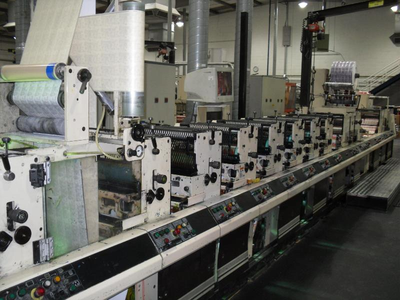 Mark Andy 4200 Uv Flexo Labels Printing Machine Flexo
