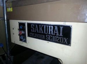 Sakurai SC102DX Screen printing machine