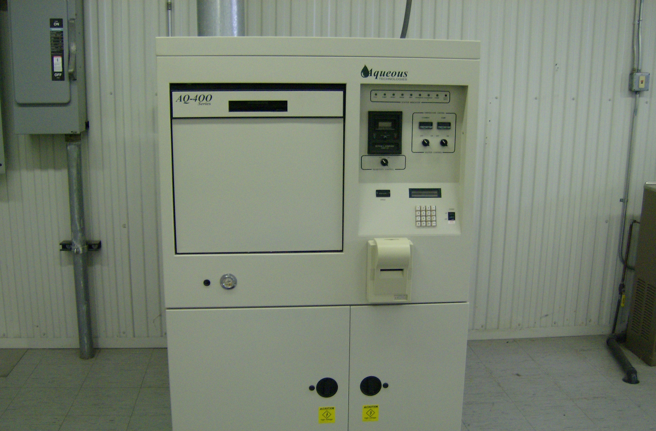 aqueous pcb cleaning machine