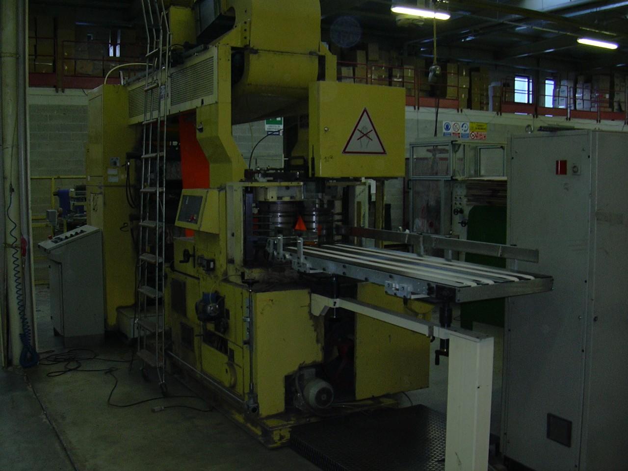 Macchina per la produzione di tovaglioli omet tv 501 - Macchina per decorare carta ...