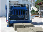 Movable concrete block making machine Euroblock 12