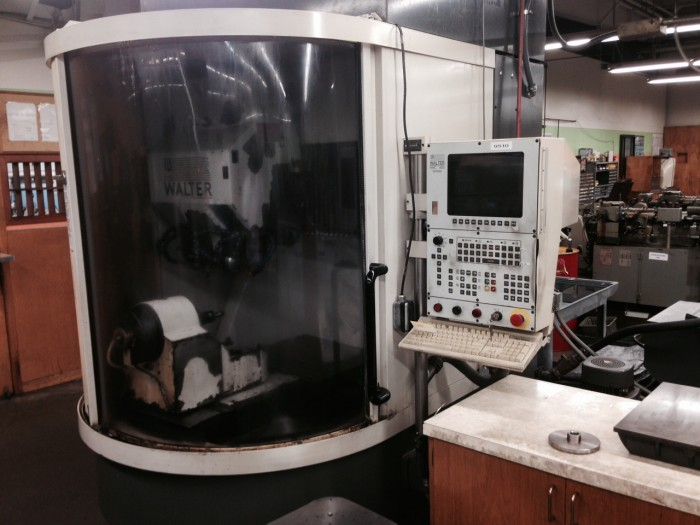 Used Walter Helitronic Power 400 Grinding Machine Exapro