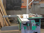 Lurem 310 semi pro Wood combined machine