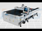 HS-F1325 the first fiber laser cutting bed with 25m/min speed in China