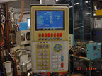 Used Newbury 200 VTCR9 Vertical Rotary Injection moulding machine