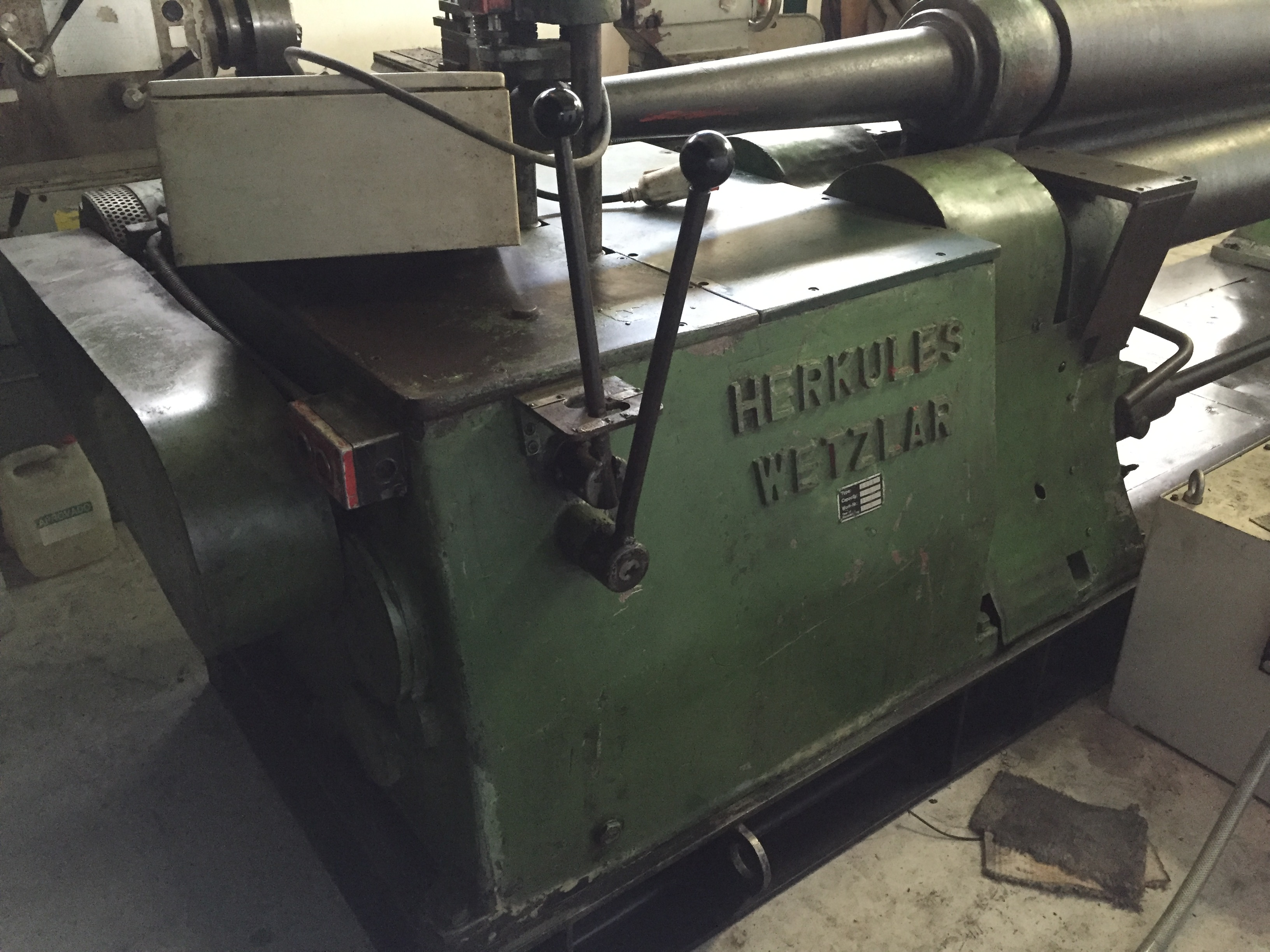 hercules roll machine