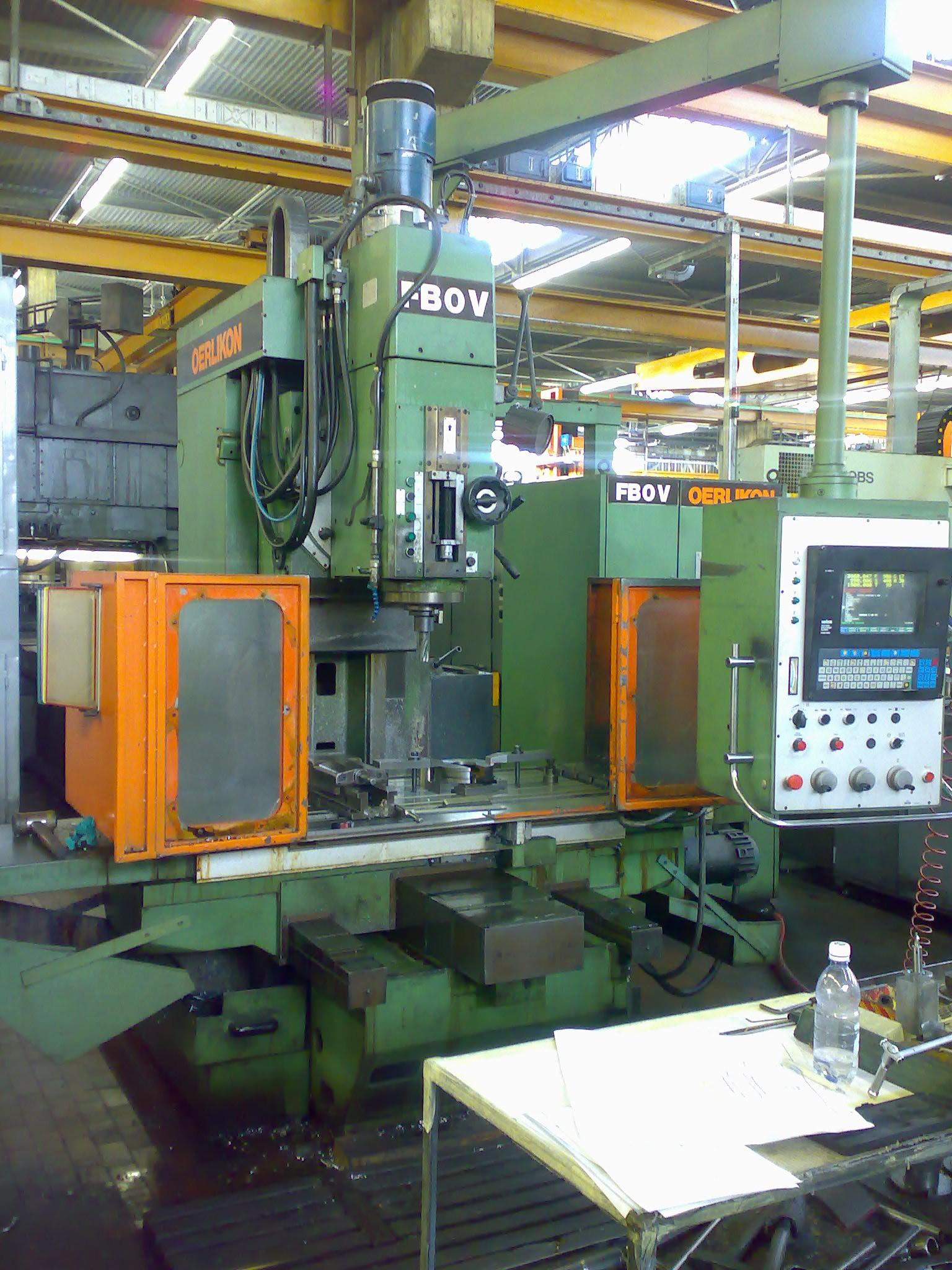oerlikon machine tools