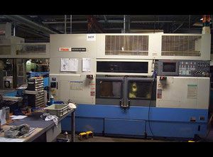 Mazak Multiplex 420 Mark II Multispindle automatic lathe